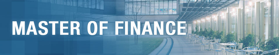 Schulich Master of Finance Program with Specialization in Regulatory Affairs